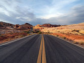 Red Stone Highway — Stock Photo