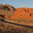 Valley of Fire Highway — Stock Photo