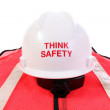 Stock Photo: Think Safety