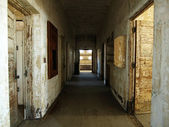Dilapidated Corridor — Stock Photo