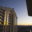 Las Vegas Condo Dawn — Stock Photo