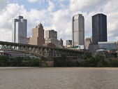 Pittsburgh Pennsylvania Waterfront — Stock Photo
