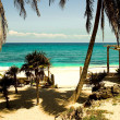 Riviera Maya Beach - Stock Photo
