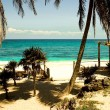 Riviera Maya Beach — Stock Photo