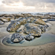 2012 in Sand — Stock Photo #8145202