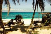 Riviera Maya Beach — Stock Photo