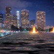 Downtown Los Angeles Skyline - Stock Photo