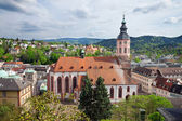 Panoramic view of Baden-Baden. Europe, Germany — Stock Photo