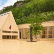 The building of parliaments of Liechtenstein on the main square. — Stock Photo #10633607