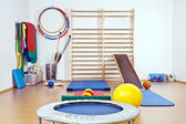 The interior of the gym for children and adults — Stock Photo