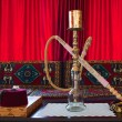 Hookah room with a hookah. — Stock Photo