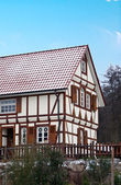 Alsace typical traditional House — Stock Photo