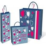 Gifts bag set — Stock Vector