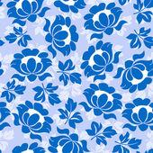 Sunflower seamless pattern — Stock Vector