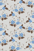 Seamless floral pattern in pastel colors — Stok Vektör