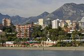 Playa de benalmadena — Stock Photo
