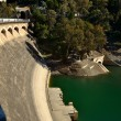 Limonar dam, — Stock Photo