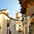 Streets of Estepona - Stock Photo