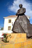 Sculpture in Estepona — Stock Photo