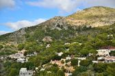 Montes de málaga — Foto de Stock