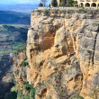 City ​​on rock, ronda — Stock Photo