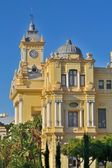 City Hall in malaga — Stock Photo