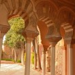 Pillars of the Arab Alcazaba - Stock Photo