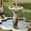 Alcazaba gardens - Stock Photo
