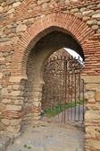 Walls of the Alcazaba — Stock Photo