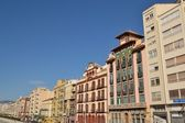 Buildings Malaga — Stock Photo