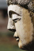 Buddha statue profile — Stock Photo