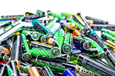 Battery stack — Stock Photo