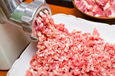 Minced meat preparation — Foto de Stock