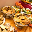 Stock Photo: Abundance of food
