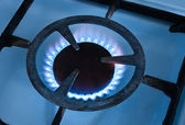 Gas burners — Stock Photo