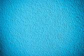 Mavi duvar — Stok fotoğraf