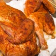 Salt-baked chicken — Stock Photo #9451605