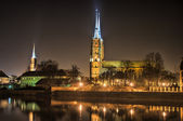Ostrow Tumski, Wroclaw, Poland — Stock Photo