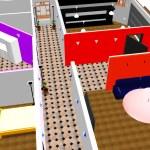 3d apartment plan. — Stock Photo #9727084