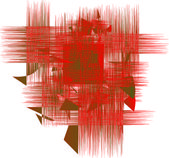 Abstract RED — Stock Photo