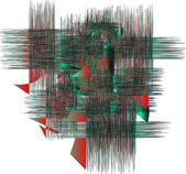 Background RED, BLU — Stock Photo