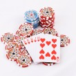 Stock Photo: Poker cards