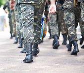 Ukraine army force — Stock Photo