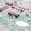 Circuit board (with zoom effect) — Stock Photo #9845337