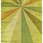 Grunge sun rays on grunge paper — Stock Photo #8003225