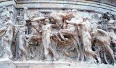 Mramorová socha v římě — Stock fotografie