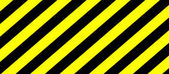 Warning stripes — Stock Photo