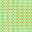 Stock Photo: Seamless floral pattern