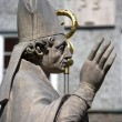 Statue of a Pope — Stock Photo