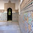 Arab moorish door — Stock Photo